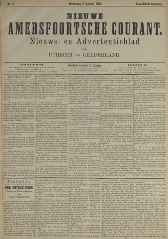 Nieuwe Amersfoortsche Courant 1888-01-11