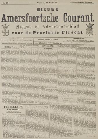 Nieuwe Amersfoortsche Courant 1903-03-11