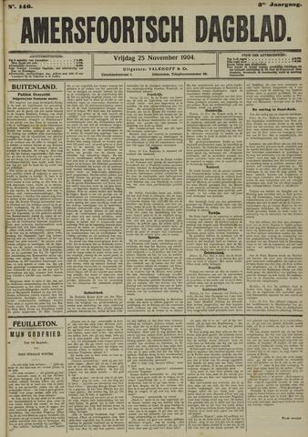 Amersfoortsch Dagblad 1904-11-25