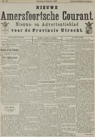 Nieuwe Amersfoortsche Courant 1897-10-09