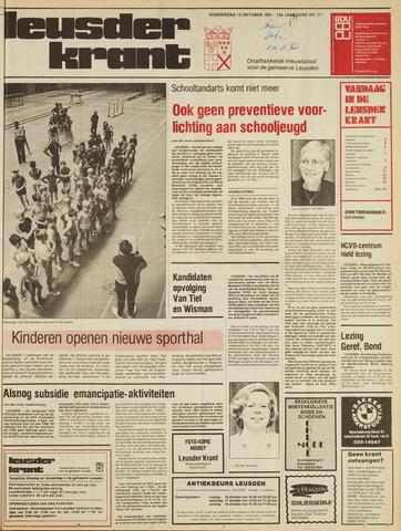 Leusder Krant 1981-10-15
