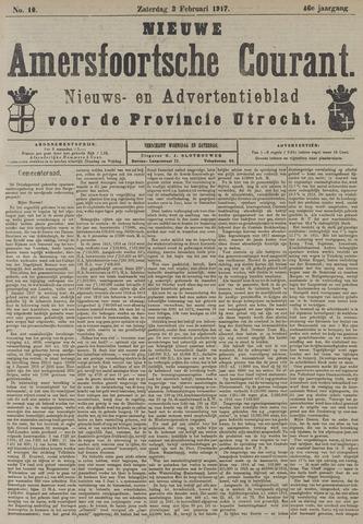 Nieuwe Amersfoortsche Courant 1917-02-03