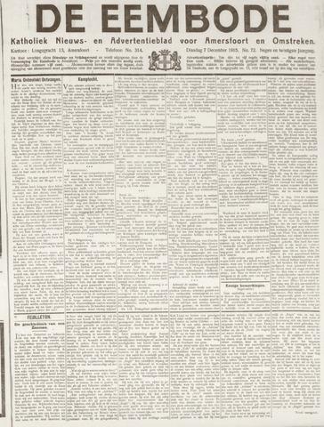 De Eembode 1915-12-07