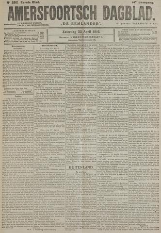 Amersfoortsch Dagblad / De Eemlander 1916-04-22