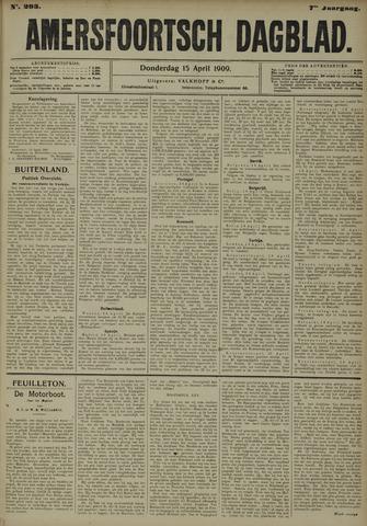 Amersfoortsch Dagblad 1909-04-15
