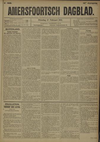 Amersfoortsch Dagblad 1912-02-27