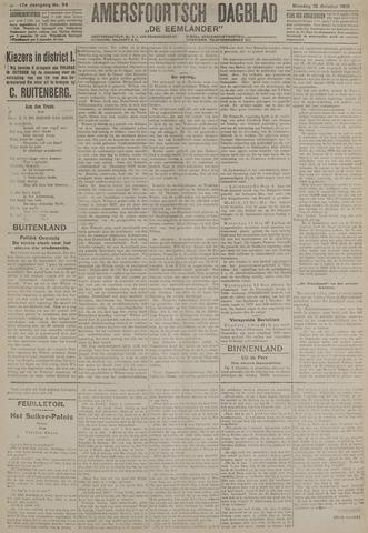 Amersfoortsch Dagblad / De Eemlander 1918-10-15
