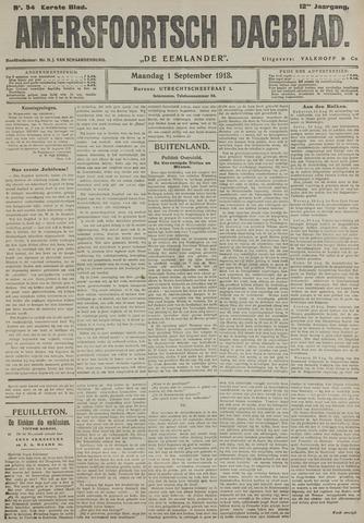 Amersfoortsch Dagblad / De Eemlander 1913-09-01
