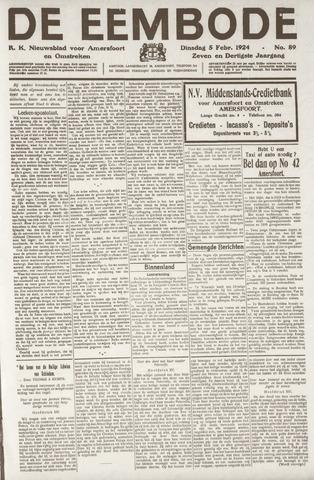 De Eembode 1924-02-05