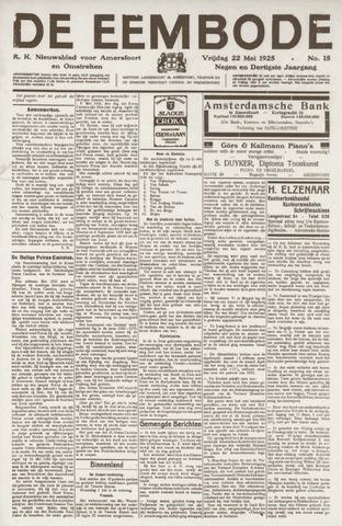 De Eembode 1925-05-22