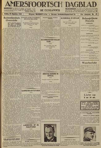 Amersfoortsch Dagblad / De Eemlander 1932-08-26