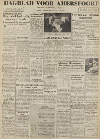 Dagblad voor Amersfoort 1946-12-03