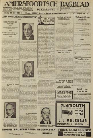 Amersfoortsch Dagblad / De Eemlander 1932-07-23