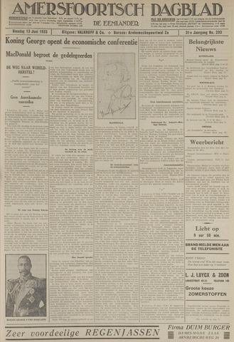 Amersfoortsch Dagblad / De Eemlander 1933-06-13