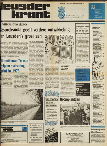 Leusder Krant 1975-04-17