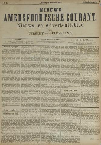 Nieuwe Amersfoortsche Courant 1887-11-12