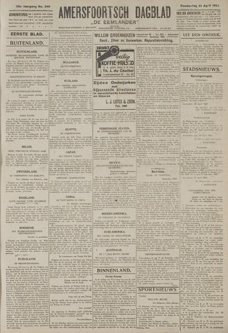 Amersfoortsch Dagblad / De Eemlander 1927-04-21