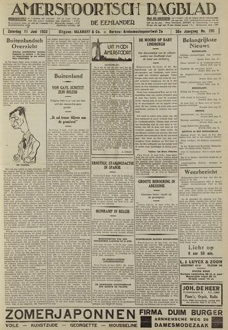 Amersfoortsch Dagblad / De Eemlander 1932-06-11
