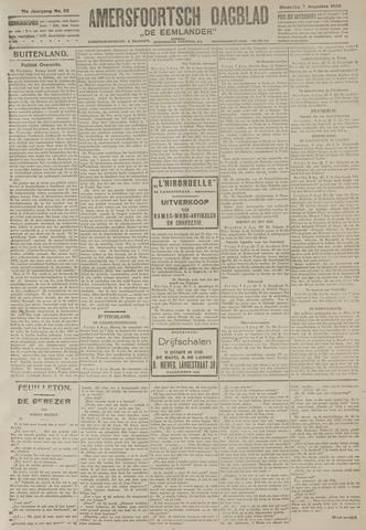 Amersfoortsch Dagblad / De Eemlander 1922-08-07