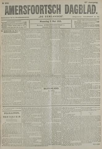 Amersfoortsch Dagblad / De Eemlander 1915-05-03