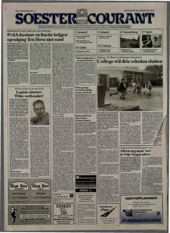 Soester Courant 2000-08-30