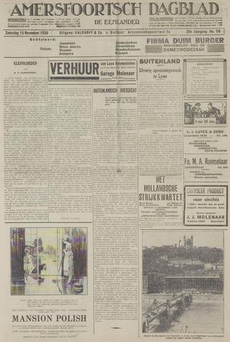 Amersfoortsch Dagblad / De Eemlander 1930-11-15