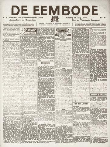 De Eembode 1927-08-26