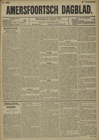 Amersfoortsch Dagblad 1905-01-18