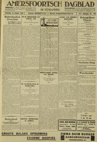 Amersfoortsch Dagblad / De Eemlander 1933-01-14