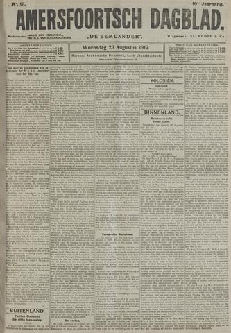 Amersfoortsch Dagblad / De Eemlander 1917-08-29