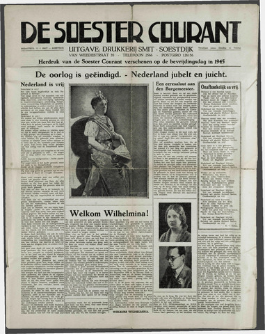 Soester Courant 1945