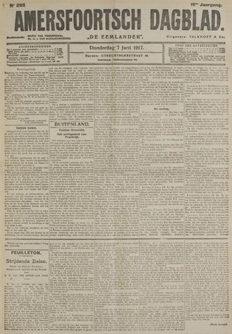 Amersfoortsch Dagblad / De Eemlander 1917-06-07
