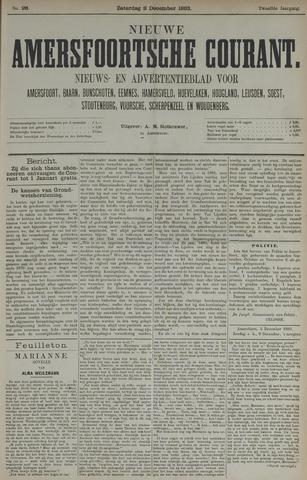 Nieuwe Amersfoortsche Courant 1883-12-08