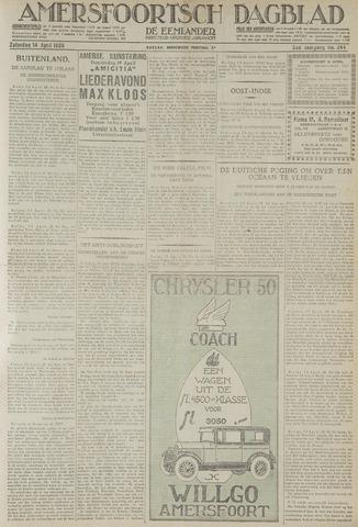 Amersfoortsch Dagblad / De Eemlander 1928-04-14
