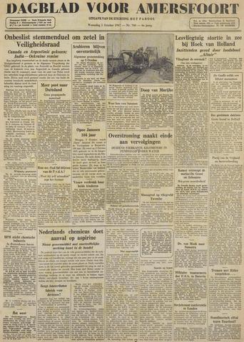 Dagblad voor Amersfoort 1947-10-01