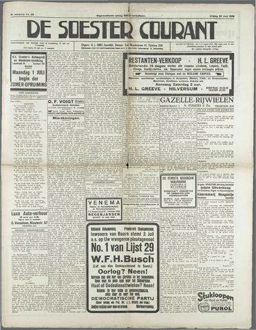 Soester Courant 1929-06-28