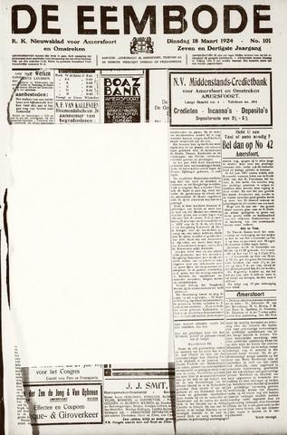 De Eembode 1924-03-18