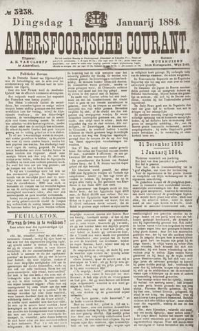 Amersfoortsche Courant 1884
