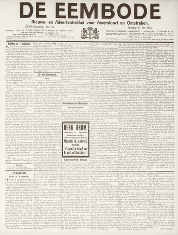 De Eembode 1914-07-21