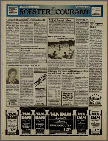 Soester Courant 1984-06-20