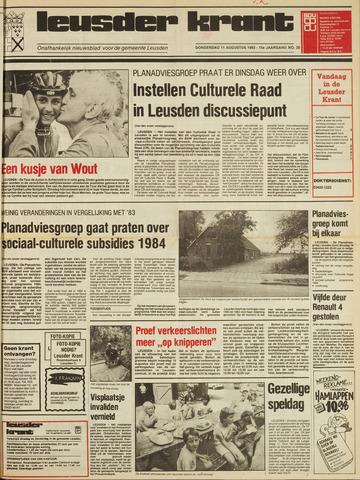 Leusder Krant 1983-08-11