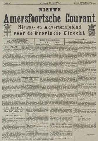 Nieuwe Amersfoortsche Courant 1907-07-17