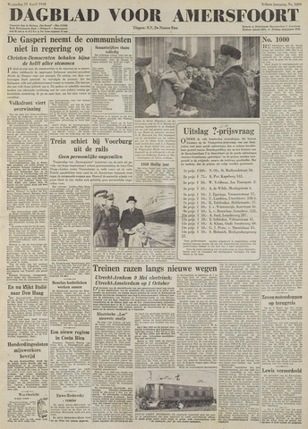 Dagblad voor Amersfoort 1948-04-21