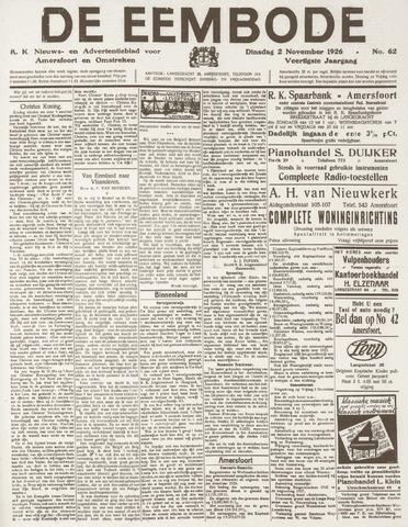 De Eembode 1926-11-02