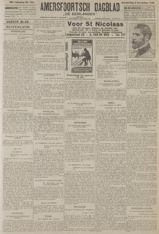 Amersfoortsch Dagblad / De Eemlander 1926-12-02