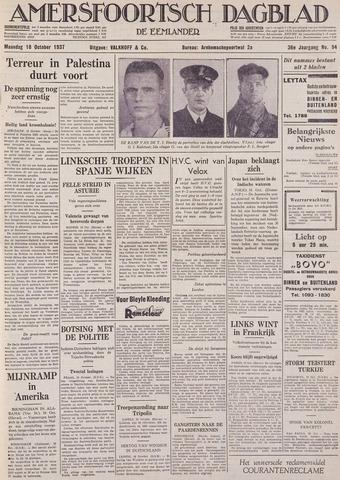 Amersfoortsch Dagblad / De Eemlander 1937-10-18
