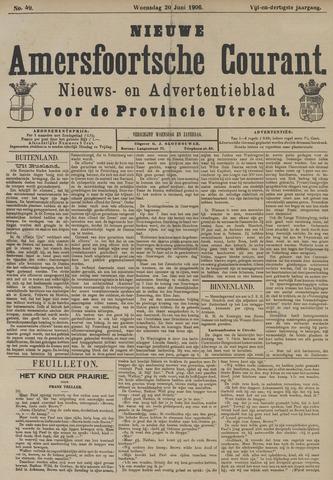 Nieuwe Amersfoortsche Courant 1906-06-20