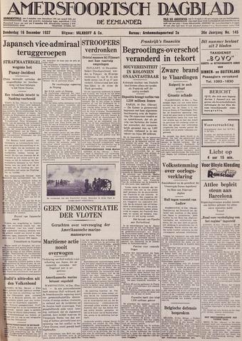 Amersfoortsch Dagblad / De Eemlander 1937-12-16