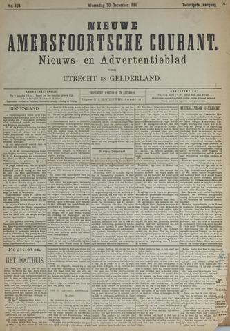 Nieuwe Amersfoortsche Courant 1891-12-30