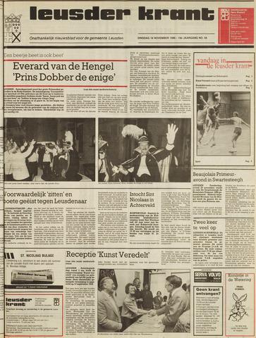 Leusder Krant 1986-11-18